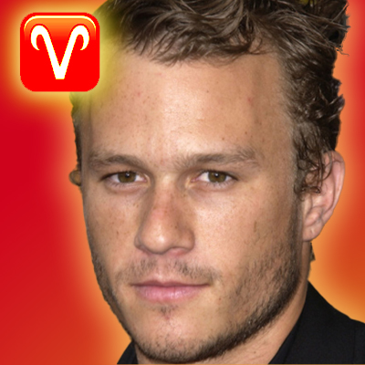 heath ledger zodiac sign