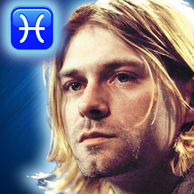 kurt cobain zodiac sign