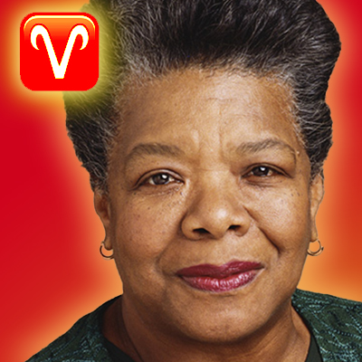 maya angelou zodiac sign