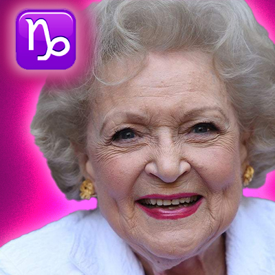 betty white zodiac sign